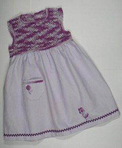 Robe piquet coton R